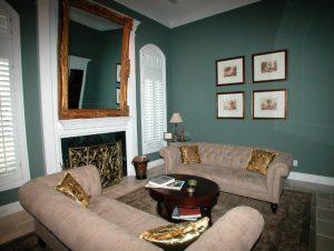 Dallas Preston Hollow sitting room