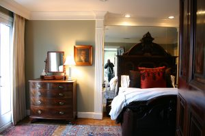 traditional masculine bedroom