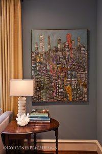 New York Parining, crystal lamo, farrow and ball paint