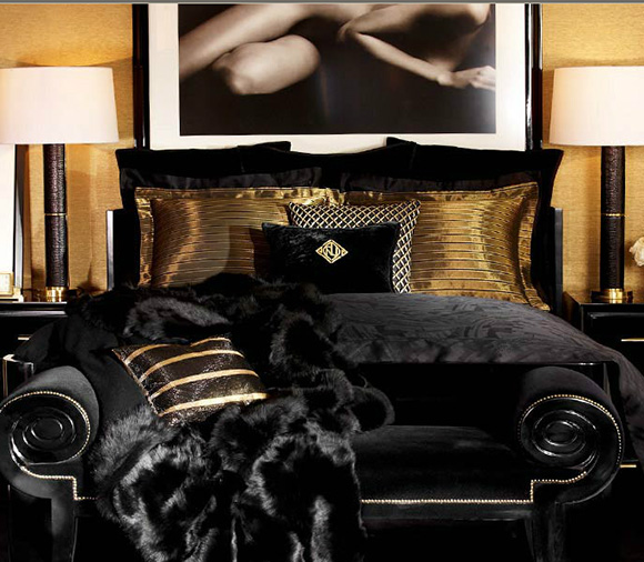 Ralph Lauren One Fifth bed on www.CourtneyPrice.com