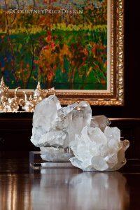 design details, crystal specimen
