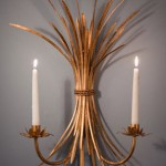 wheat sconce