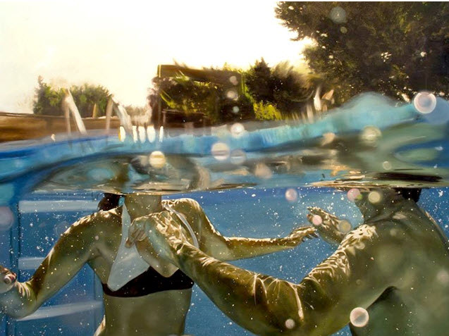 Eric Zener oil on canvas Gallery Henoch