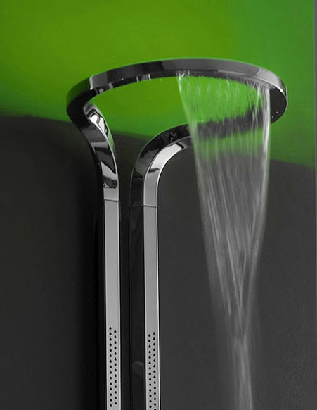contemp shower head ametis by graff -infinity