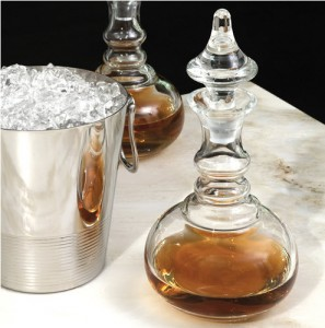 stylish decanter