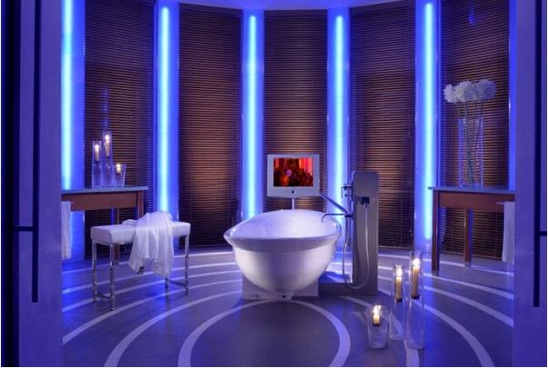 LED Bathroom design