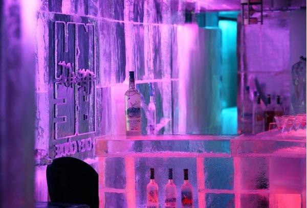 LED Ice Cube Bar