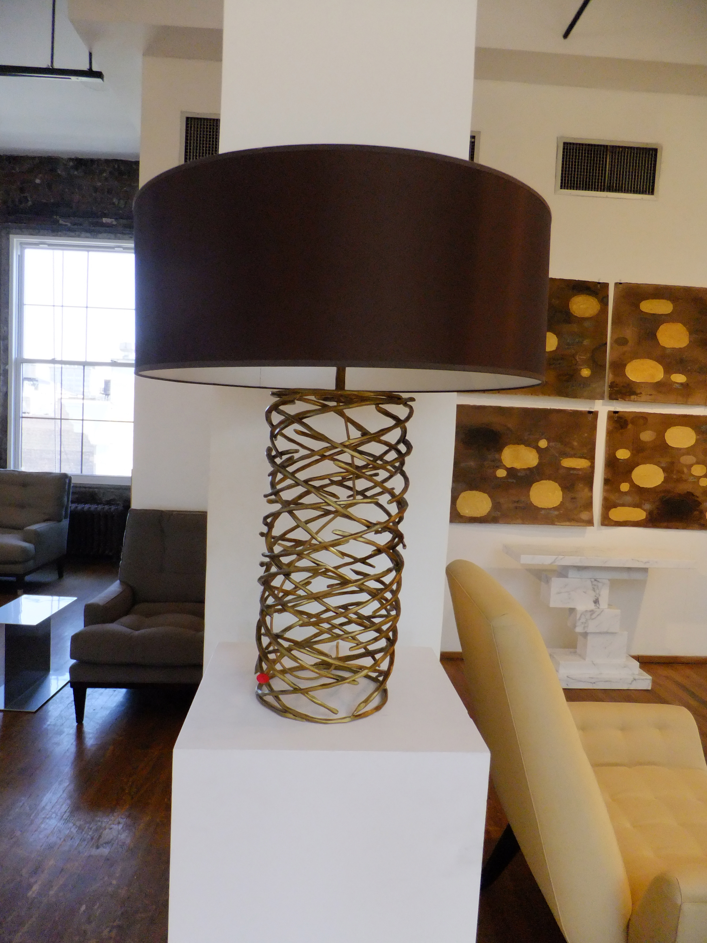 Contemporary Lamp by Ralph Pucci on www.CourtneyPrice.com