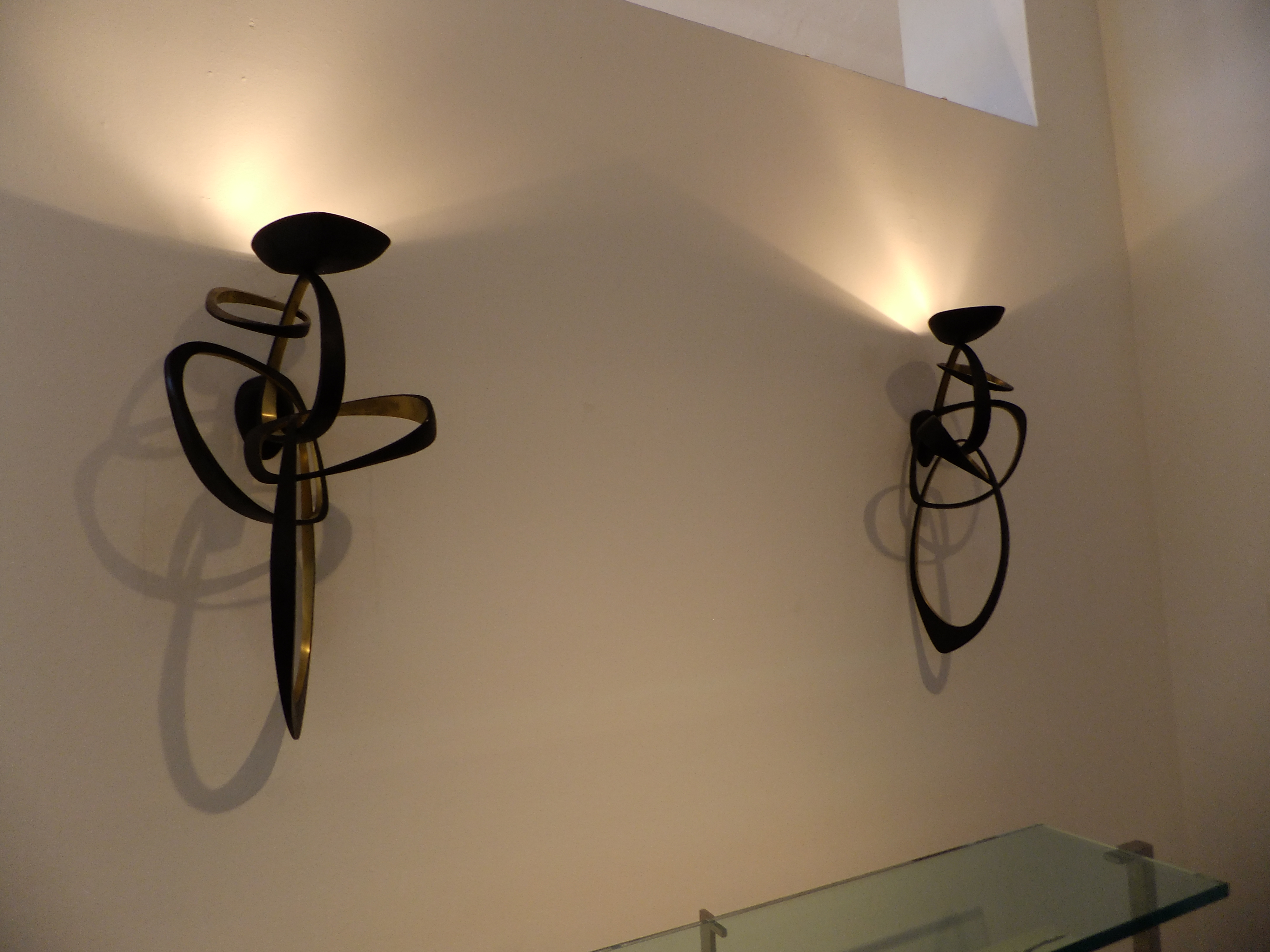 Contemporary Sconces Ralph Pucci on www.CourtneyPrice.com
