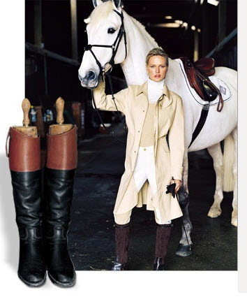equestrian fashion Ralph Lauren