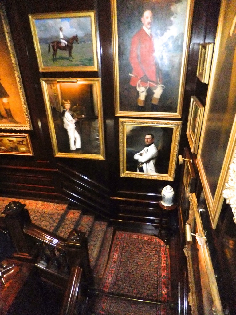 Stairwell, Ralph Lauren NYC flagship, as seen on CourtneyPrice.com