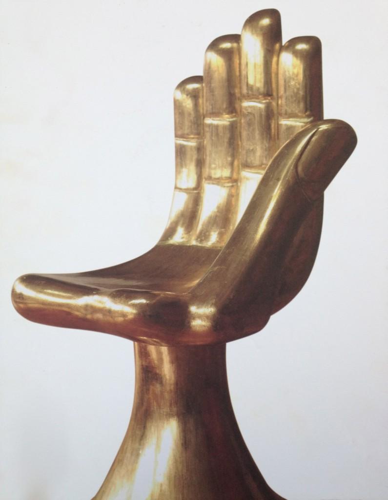 HAND chair Pedro Freideberg
