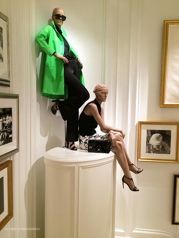 Ralph Lauren NYC Women's Flagship Store on www.CourtneyPrice.com