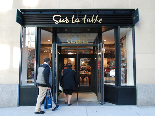 Sur La Table store Manhattan