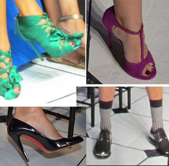 shoes At Fashion Show