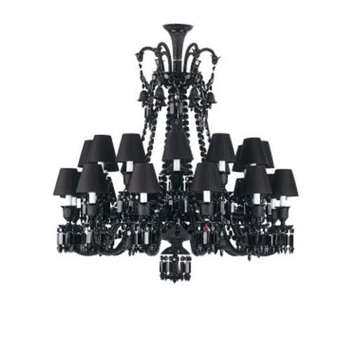 Philippe Starck Onyx Baccarat Chandelier