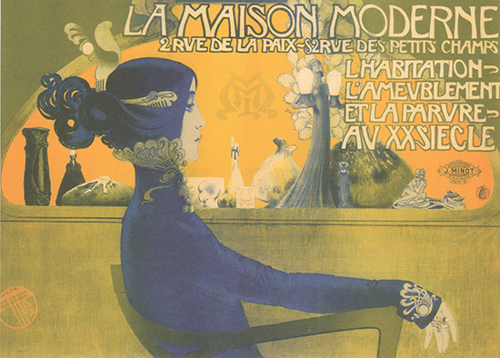 La Maison Moderne, French poster art