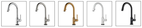 faucet finish options