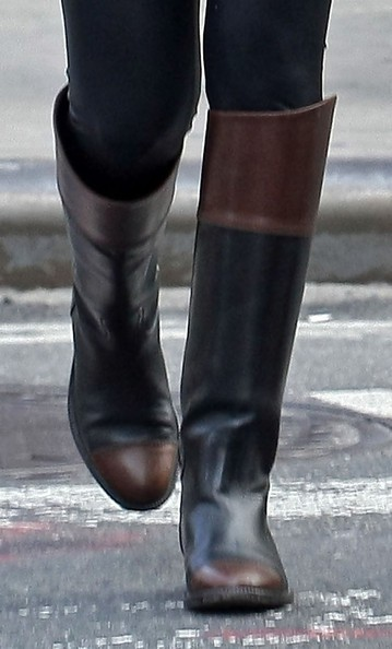 chanel boots equestrian