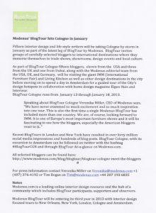 BlogTour Cologne Press Release