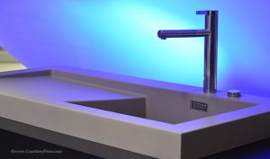 AntiMicrobial sink