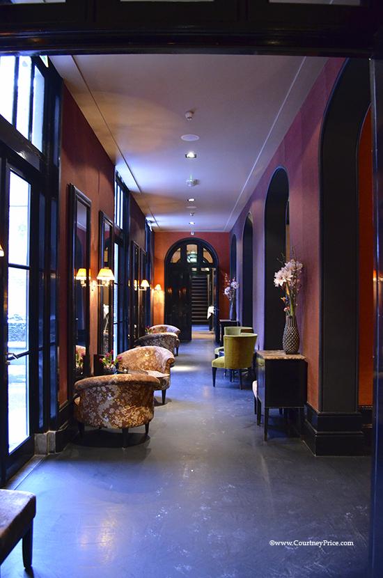College Hotel Lobby, Amsterdam hotel