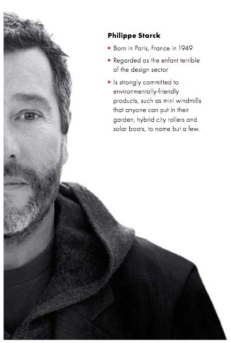 Philippe Starck bio