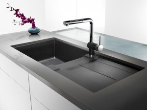 Blanco Antibacterial sink