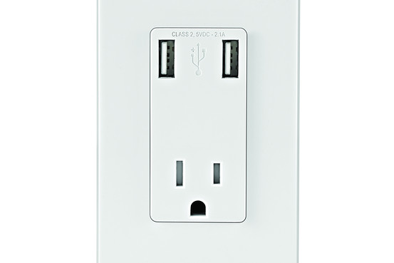 outlet with USB ports