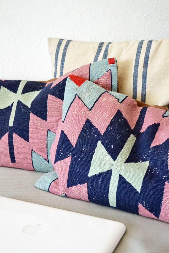 kilim cushions, decorative pillows