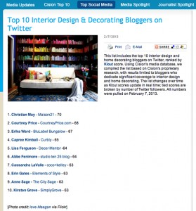 Top Ten Bloggers