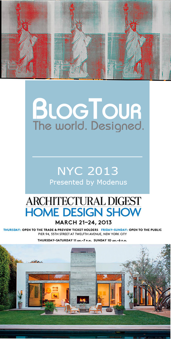 BlogTour NYC, Architectural Digest Home show
