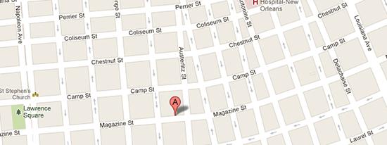 Magazine Street New Orleans Map.Magazine Street Shopping For New Orleans Interior Design