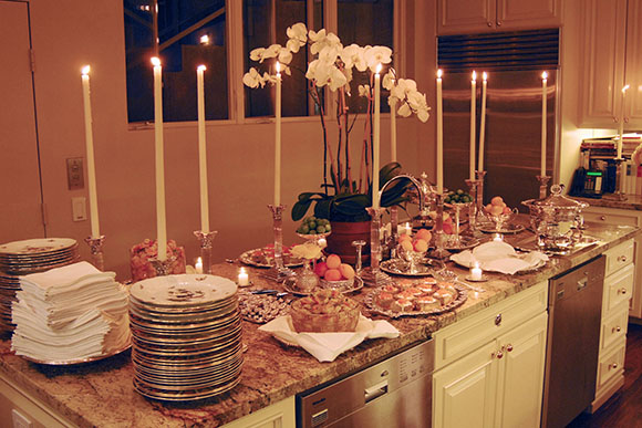 Marin Hopper's Birthday at the Home of Alex Hitz