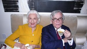 with Dominick Dunne