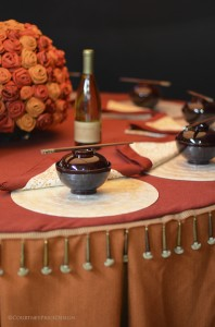 DIFFA, AsianTable setting, tablescape