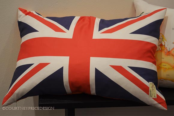 British Flag Pillow