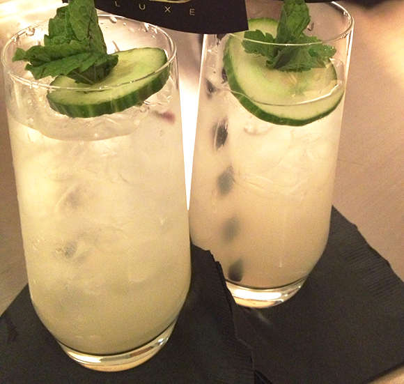 Cucumber Limeade, Summer cocktail, refreshing drink