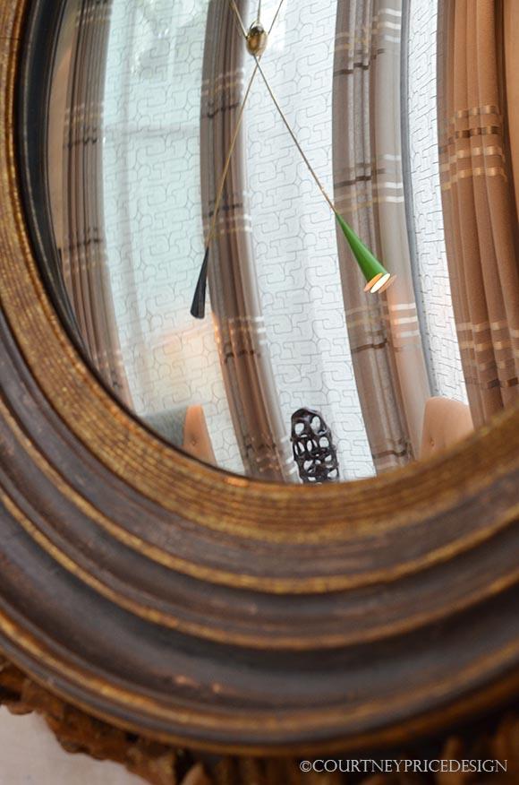 convex mirror, Kipps Bay