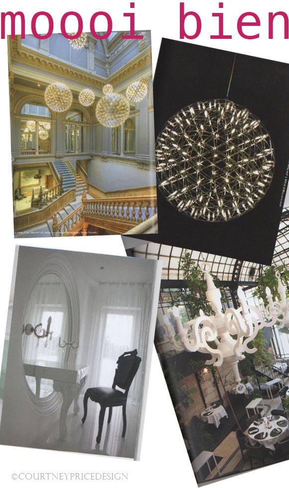 Contemporary Lighting, Moooi, modern lighting, fireworks chandelier on www.CourtneyPrice.com