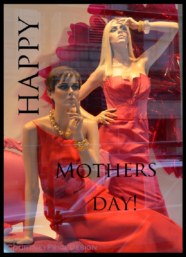 MothersDay, red fashion, red dress, dressed in red