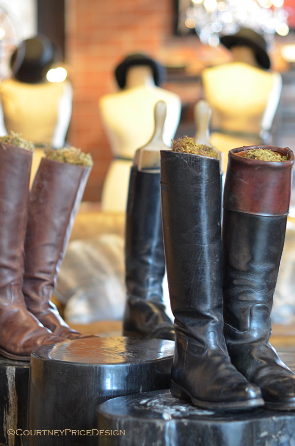 Equestrian Decor, English Riding Boots