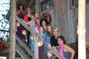 Clogger Retreat Group, Canada, Canadian Private Resort, Treehouse, Adult Treehouse, bloggers