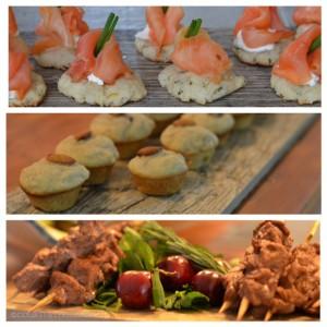 party food, Chef Derek Paterson