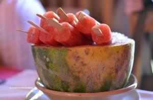 healthy snacks, fruit popsicles, summer snacks