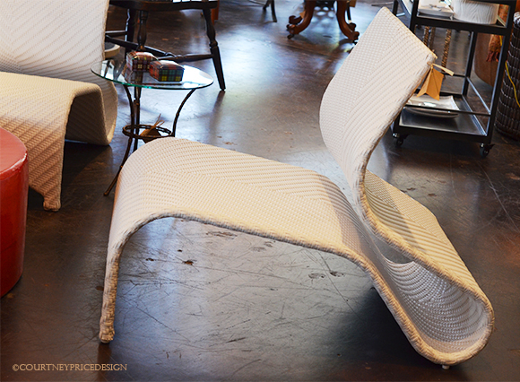 Contemporary Outdoor Seating, modern outdoor, outdoor chair, big white wicker chair