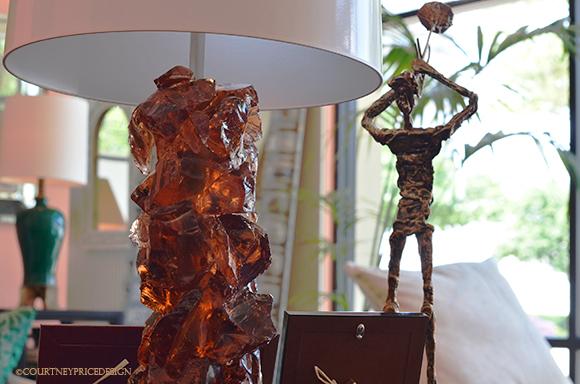 Crystal Lamp, mineral lamp, amber lamp, natural rock specimen lamp