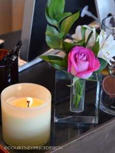 candle scents, spa candle, relaxing smell, candle on desk
