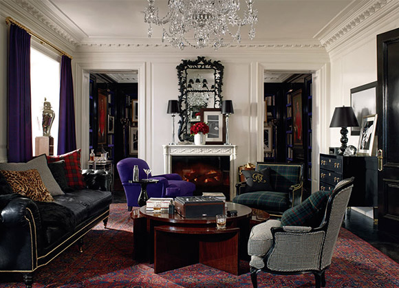 Ralph Lauren, Apartment #1, Living Room as seen on CourtneyPrice.com