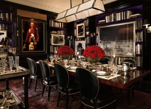 Ralph Lauren, Apt No1, Dining Room, British Decor, Interior Design